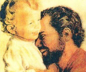 Feliz día de San José. Feliz día del padre