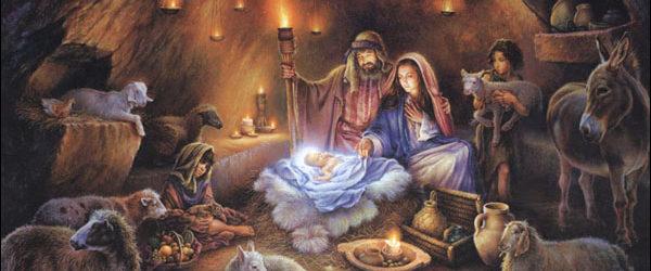 Nochebuena con los peregrinos.