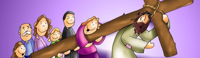 Llevar la cruz con alegría